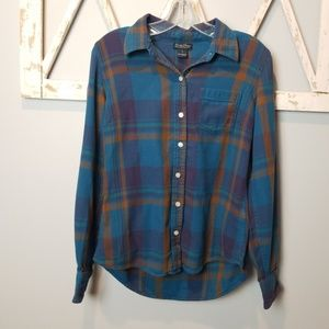 S Lucky Brand flannel shirt